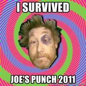 Russian Boozer - i survived joe's punch 2011