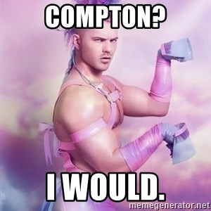 Unicorn Boy - compton? i would.