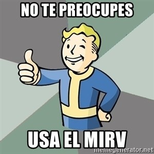 Fallout Boy - no te preocupes usa el mirv