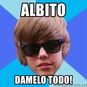 Just Another Justin Bieber - ALBITO DAMELO TODO!