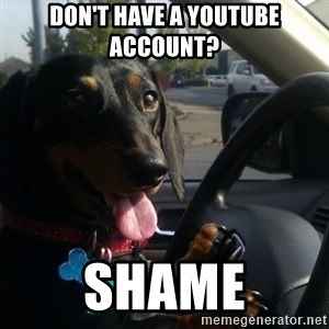 puppycop - don't have a youtube account? shame