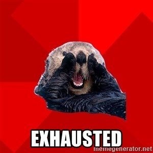 Otter Failure - exhausted
