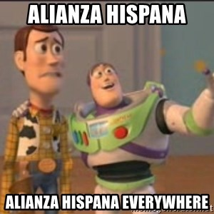X, X Everywhere  - alianza hispana alianza hispana everywhere