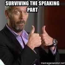 cool story bro house - Surviving the Speaking  PArt