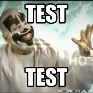 Insane Clown Posse - test test