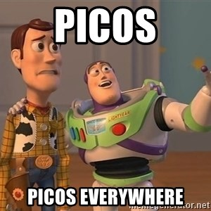 ORIGINAL TOY STORY - Picos picos everywhere