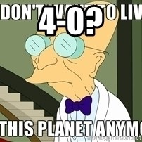I Dont Want To Live On This Planet Anymore - 4-0?