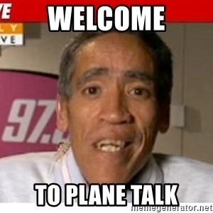 Radio Voice Guy - Welcome to Plane Talk