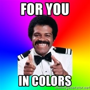 Foley - for you in colors