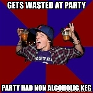 Sunny Student - GETS WASTED AT PARTY PARTY HAD NON ALCOHOLIC KEG