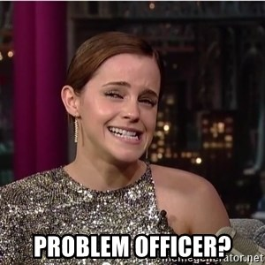 Emma Watson Trollface - Problem OFFICER?