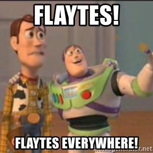X, X Everywhere  - Flaytes! Flaytes everywhere!