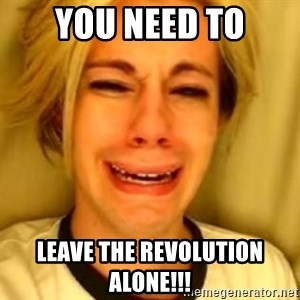 Chris Crocker - You Need to leave the revolution alone!!!