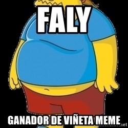 comic book guy - FALY GANADOR DE VIÑETA MEME