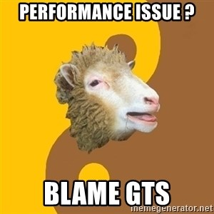 Sheep Obscurantist - performance issue ? BLAME GTS