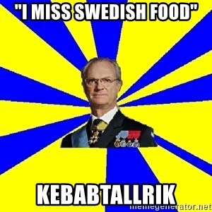 "swedishproblems.tumblr.com - ""I miss swedish food"" Kebabtallrik"
