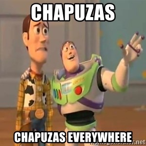 X, X Everywhere  - Chapuzas chapuzas everywhere