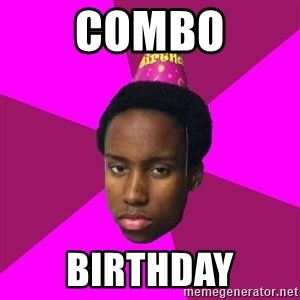 Happy Birthday Black Kid - combo Birthday