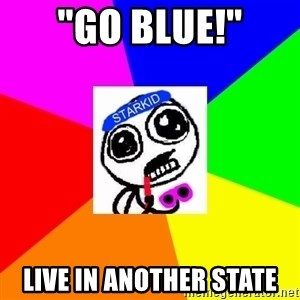 "Starkid Anonymous - ""Go blue!"" Live in another state"