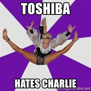 Disco dancer - toshiba hates charlie