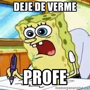 Spongebob What I Learned In Boating School Is - deje de verme  profe