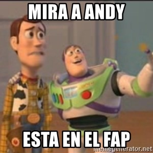 X, X Everywhere  - mira a andy esta en el fap