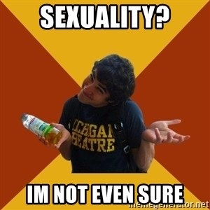 Darren Criss Doesnt Know - sexuality? im not even sure