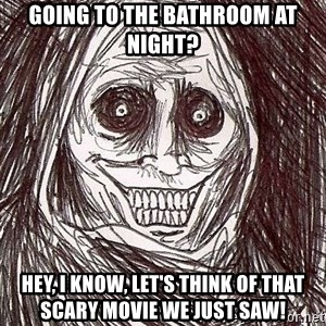 Shadowlurker - Going to the bathroom at night? hey, i know, let's think of that scary movie we just saw!