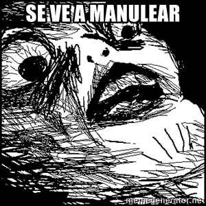 Surprised Chin - Se ve a manulear