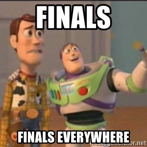 X, X Everywhere  - finals finals everywhere