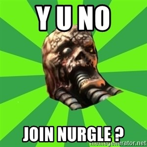 Rottening plague marine - y U no join nurgle ?