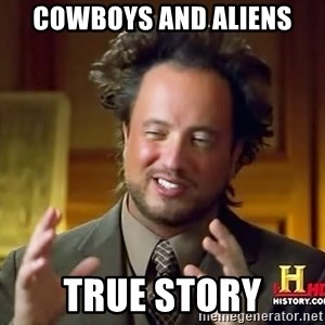 Ancient Aliens - Cowboys and Aliens True story