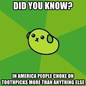 Mameshiba - Did you know? in america People choke on toothpicks more than anything else