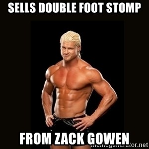 Dolph Ziggler - Sells Double Foot Stomp From zack gowen