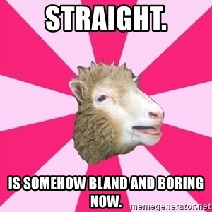 Smut Sheep - Straight. Is somehow bland and boring now.