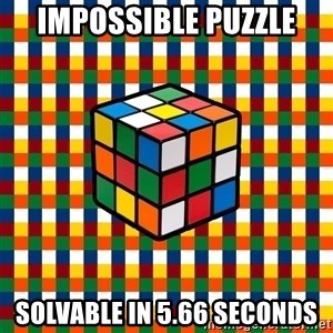 Typical_cuber - impossible puzzle solvable in 5.66 seconds