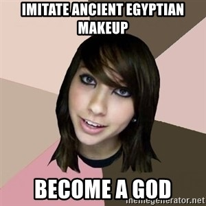 Boxxy - imitate ancient egyptian makeup become a god