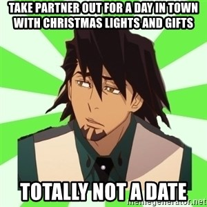 DerpTetsu - Take partner out for a day in town with christmas lights and gifts  totally not a date