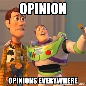 Consequences Toy Story - opinion opinions everywhere