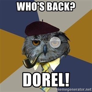 Art Professor Owl - who's back? dorel!