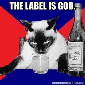 Alco-cat - the label is god.