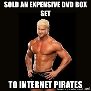 Dolph Ziggler - Sold an expensive DVD Box set To internet pirates