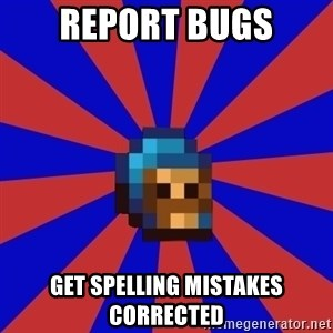 Kag knight - REPORT BUGS GET SPELLING MISTAKES CORRECTED