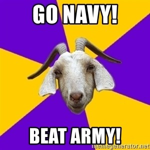 Premed Goat - GO NAVY! BEAT ARMY!