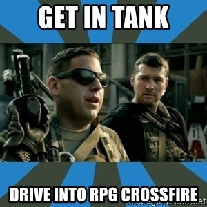 FPS noob - GET IN TANK DRIVE INTO RPG CROSSFIRE