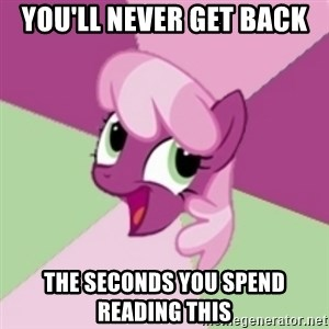 insidious pony - you'll never get back the seconds you spend reading this