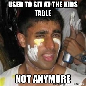 Krazy Kapil - used to sit at the kids table not anymore