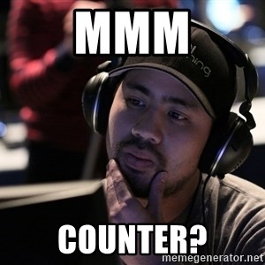 Thoughtful Pro Gamer - MMM counter?