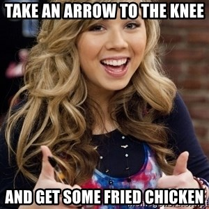 sucess sam puckett - Take an arrow to the knee And get some fried chicken