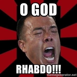 angryCoach - o god rhabdo!!!